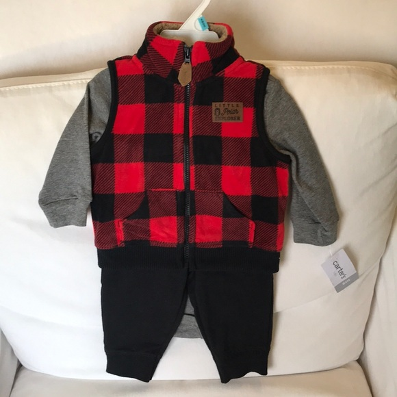 5038c3721 Carter's Matching Sets | Nwt 3 Piece Boys Outfit | Poshmark